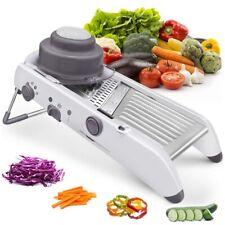 Slicer Vegetable Food Cutter Adjustable Blades Home Kitchen Tool Manual 18 in 1