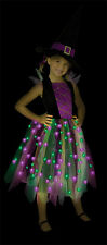 Light Up Rainbow Witch Ch12-14  Costume