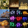 Christmas Lights Copper Mini LED String Light Home Xmas Decor Battery 100 LEDS