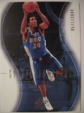 2003-04 SP AUTHENTIC ANDRE MILLER # 111  DENVER  !!!  BOX  # 33
