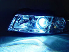 Plug & Play DEPO 1999-2001 AUDI A4 B5 XENON HID CHROME ECODE PROJECTOR HEADLIGHT