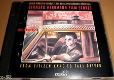 Bernard Herrmann film scores Cd Citizen Kane Devil Daniel Webster psycho Vertigo