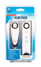 Wii Controlers V-Mote & V Chunk Play Pack BLACK VENOM