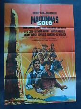 MACKENNA'S GOLD - Filmplakat A1 - Gregory Peck, Omar Sharif, Telly Savalas