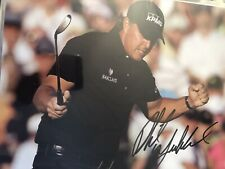 PHIL MICKELSON 3x MASTERS CHAMP SIGNED PHOTO