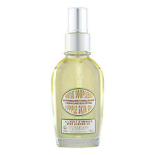 L'Occitane Almond Supple Skin Oil 3.4oz,100ml Bath & Body Moisturizer NEW #12248
