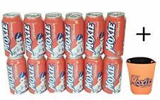 Moxie Soda 12-12oz Cans + Moxie Drink Koozie