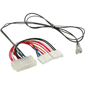Internal Power Adapter 20 Pin ATX to P8/P9 AT Board + Switch