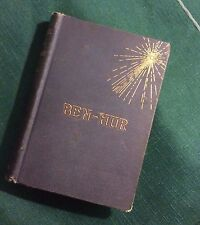 Antique Book Ben Hur By Lew Wallace (1887) Christmas Day 1887 Presentation