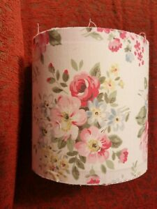 """LAMPSHADE 6"""" w 6"""" h  in CATH KIDSTON SPRING BOUQUET WHITE"""