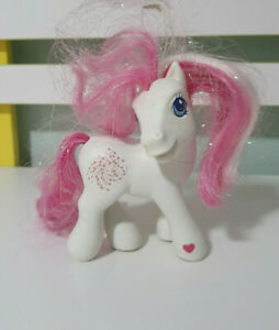 STAR SWIRL MLP MY LITTLE PONY G3 2002 HASBRO WHITE PONY WITH SWIRL