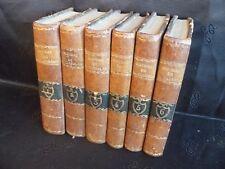 Abbé Prévost: Histoire de M. Cleveland (6 vol) fils naturel de Cromwell (1808)