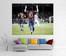 Lionel Messi Barcelone Argentine géant Art Mural imprimé Poster H22