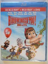 NEW/SEALED - HOODWINKED TOO!  HOOD VS EVIL (3D/Bluray/DVD)
