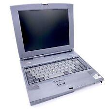 New listing Vintage Toshiba Tecra 8000 laptop Intel Pentium .26Ghz Ddr2 - Parts Only