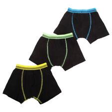 Boxer neri per bambini dai 2 ai 16 anni Taglia 5-6 anni