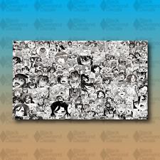 "Hentai Vehicle Wrap Sheet 28""x48"" Anime MEME Laptop JDM Stickerbomb LIMITED"