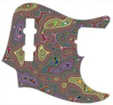 J Bass Pickguard Custom Fender Graphical Guitar Pick Guard Psychedelic Nightmare