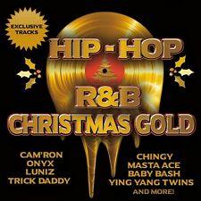 Hip Hop & R&B Christmas GOLD CD ONYX Trick Daddy Kurtis Blow Kool Moe Dee RFTW