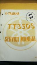 """New listing Sale! Oem Yamaha Tt350S """"Service Manual""""-140+ pages English"""