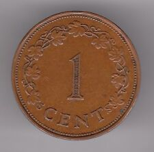 MALTA 1 CENTESIMI 1972 Moneta in Bronzo