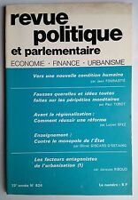 Revue Politique et Parlementaire 9/1971; Vers une nouvelle condition humaine