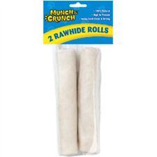 Munch & Crunch Rawhide Rolls, 2 Pack