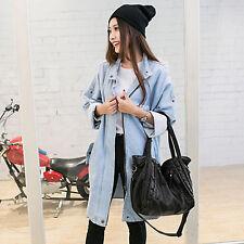 Women PU Leather Cross Body Shoulder Bag Tote Purse Satchel Messenger Handbag