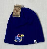 47' Brand University of Kansas Jayhawks KU Beanie Hat Cap Cuffless NCAA NWT