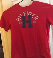 90s Vtg Tommy Hilfiger Spellout Logo Mens Sz XL T-Shirt