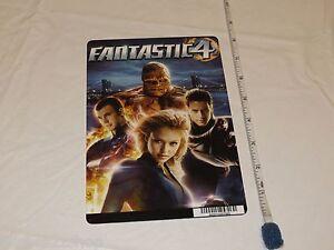Fantastic 4 RARE movie mini POSTER collector backer card 8 x 5.5 inch plastic
