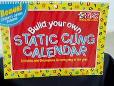 Build Your Own Static Cling Calendaer Bonus! Children'S Games Included