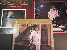 3 Ronnie Milsap LP lot, It Was Almost Like A Song,Only One Love In My Life,Gr Ht