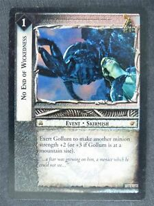 No End of Wickedness 11 U 47 - played - LotR Cards #LO