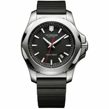 New Victorinox Swiss Army I.N.O.X. Steel & Rubber Men's Watch 241682.1