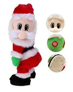 CHRISTMAS TWERKING ANIMATED SANTA TOY SINGING DANCING DECORATION GIFT HOME DECOR