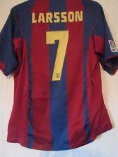 Barcelona Larsson 7 2004-2005 Hogar Camiseta De Fútbol Talla Grande/43360
