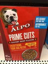 Purina ALPO Prime Cuts Savory Beef Dog Food (1lb box, 16oz, 454g) NEW