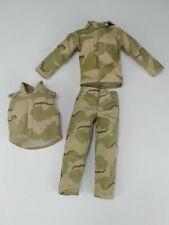 "1:6 Scale BBI Blue Box Toys USMC Desert BDU W/ Bulletproof Vest For 12"" Figures"