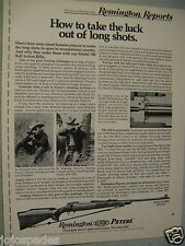 "1973 Remington Ad-Remington Model 700 BDL-8.5 x 10.5""-Original Print Ad"