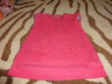 mini boden 12-18 pink thin cord dress