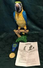 Hasbro FurReal Friends SQUAWKERS MACAW Parrot Interactive Bird Great Gift! B7