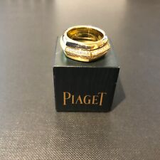 Piaget 18ct Yellow Gold Hexagonal Ring with Diamonds