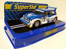 Slot SCX Scalextric Superslot S3590C Monte Carlo 1986 MG Metro 6R4 - Nº5