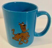 Vintage 70s Hanna Barbera Scooby Doo Coffee Mug BLUE 12oz Cup