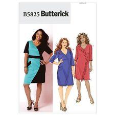 Butterick Patterns B5825 Women's Dress, Size RR (18W-20W-22W-24W)