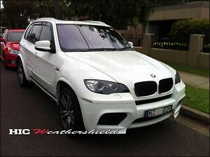 BMW SUV X5 E70 WAGON 2007-2014 WEATHER SHIELD WEATHERSHIELD WINDOW DOOR VISOR