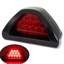 Universal F1 Style Car DRL LED Tail Stop Fog Brake Flash Strobe Light Lamp Parts
