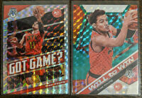 Trae Young 2019-20 Panini Silver & Green Mosaic Prizm Will Win & Got Game Lot 2
