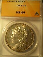 1904-O MORGAN SILVER DOLLAR MS65 ANACS